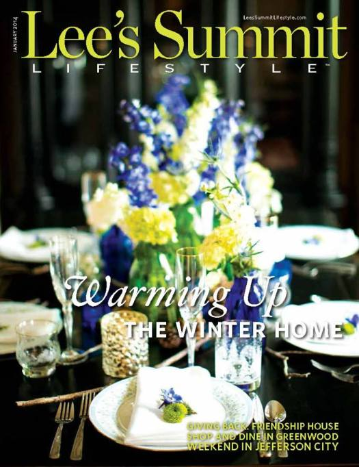 Lee's Summit Lifestyle Magazine, Freeland Photography, Andrea K. Grist Floral Designs